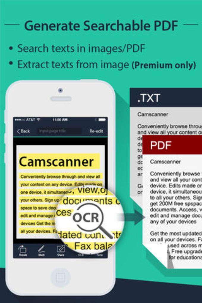 CamScanner-Scanner to scan PDF