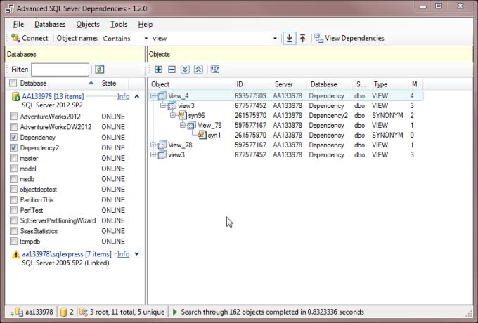 Advanced SQL Server Dependencies