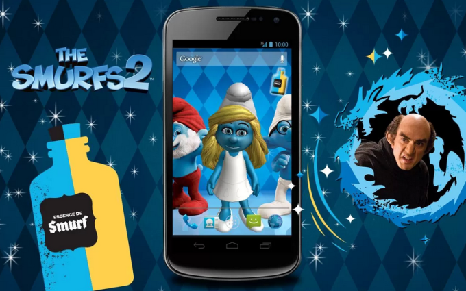 The Smurfs 2 - 3D Live Wallpaper