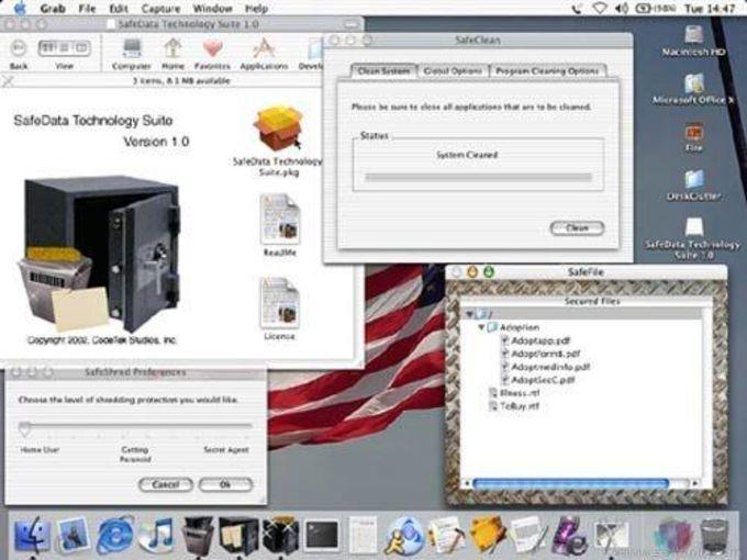 SafeData Technology Suite X