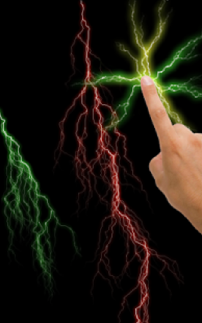 Electric Screen Live Wallpaper