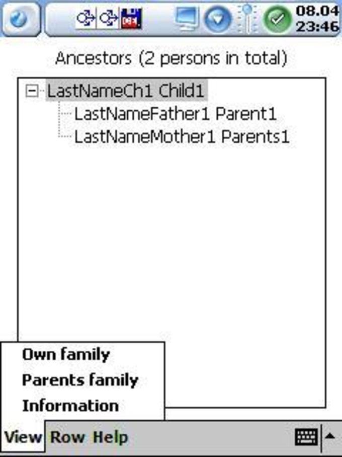 Pocket Ancestry