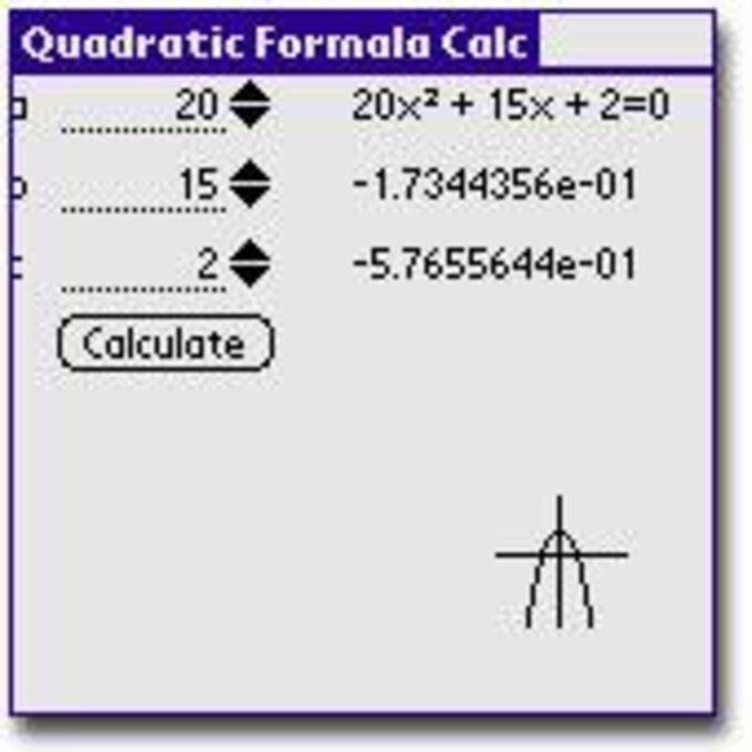 Quadratic Equation Calc
