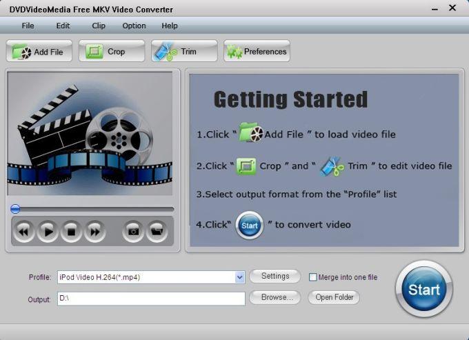 Free MKV Video Converter