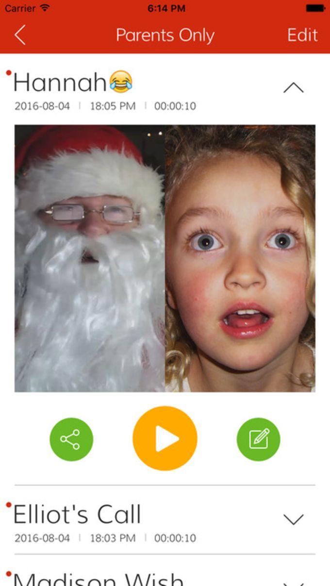 Video Call Santa Claus Christmas
