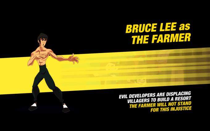 Bruce Lee: Le jeu