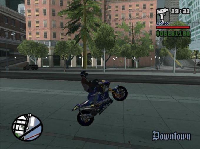 GTA San Andreas Pack de motos