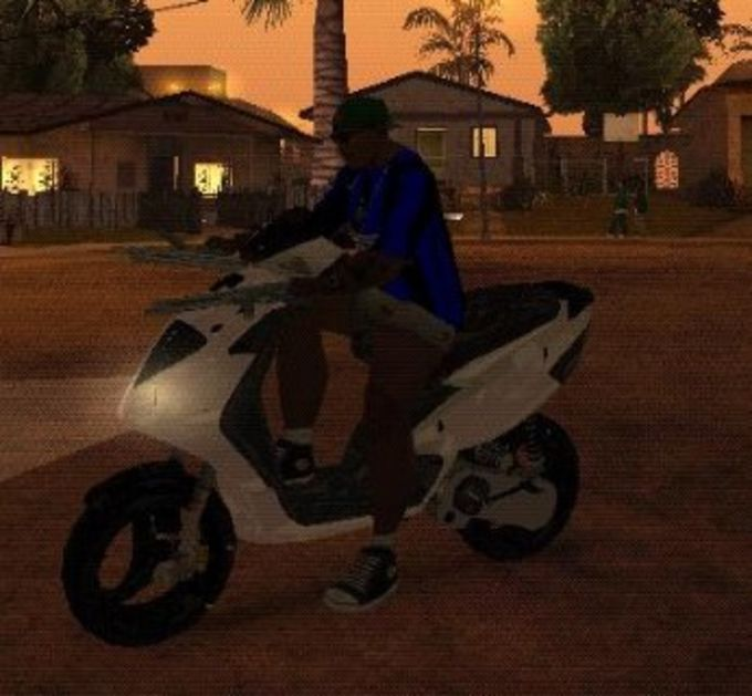 GTA San Andreas Motorrad Paket