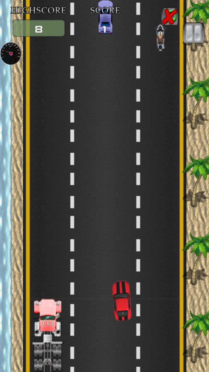 Car Highway Racing game