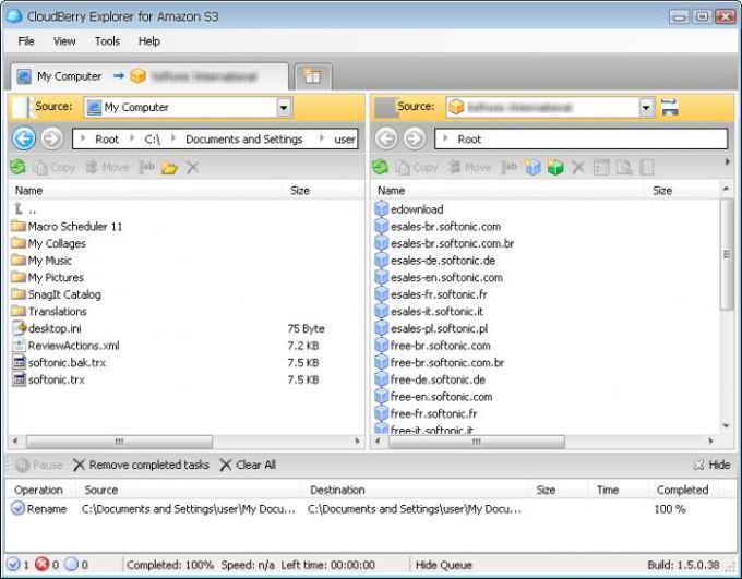 CloudBerry Explorer for Amazon S3