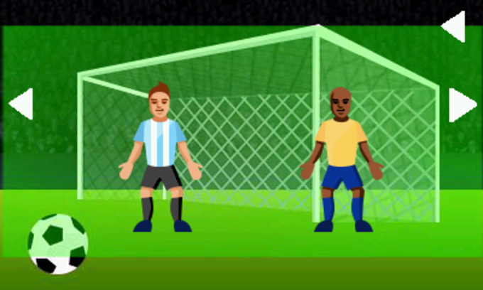 Brazil Football Click & Tap