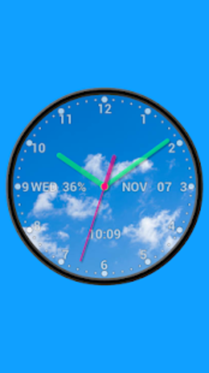 Photo Analog Clock Live Wallpaper-7 PRO for Android - Download