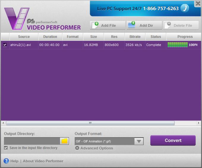 Video Performer