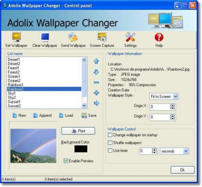 Adolix Wallpaper Changer