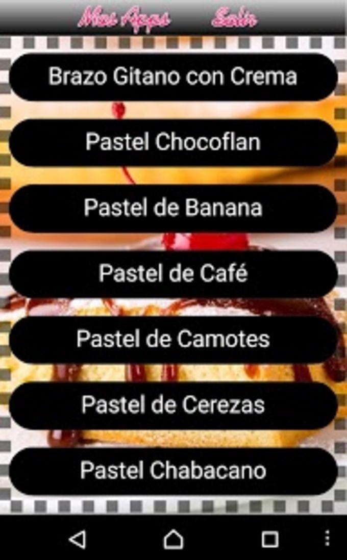 Recetas de Pasteles
