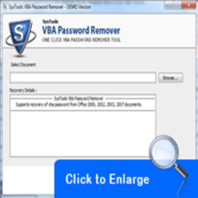 VBA Password Remover