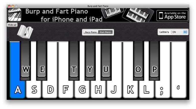 Burp And Fart Piano