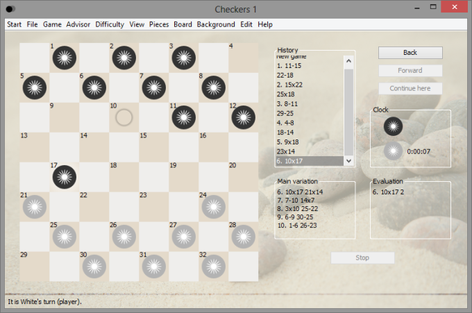Checkers 1