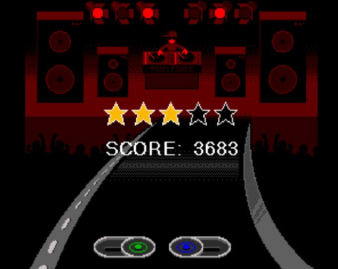 Pixel Force: DJ Hero