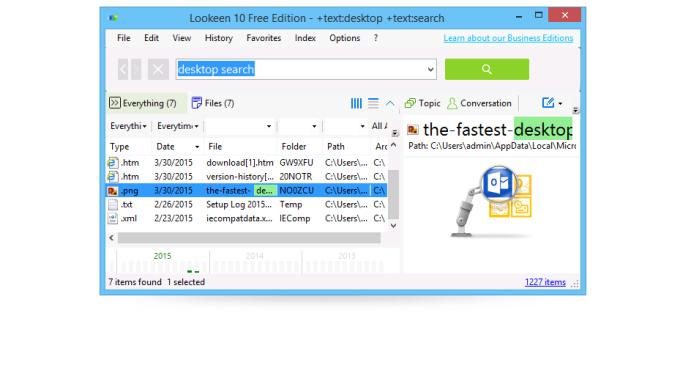 Lookeen Free Desktop Search