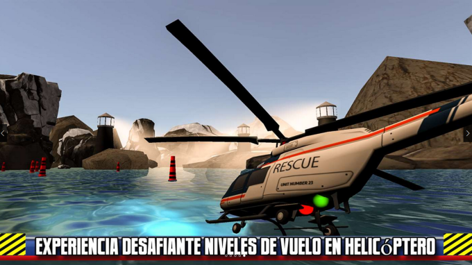 Helicopter Rescue Flight Sim