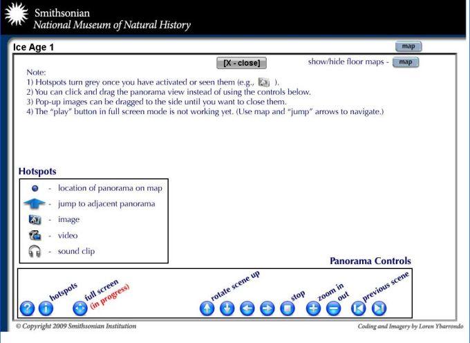 Visita Virtual Museu Smithsonian