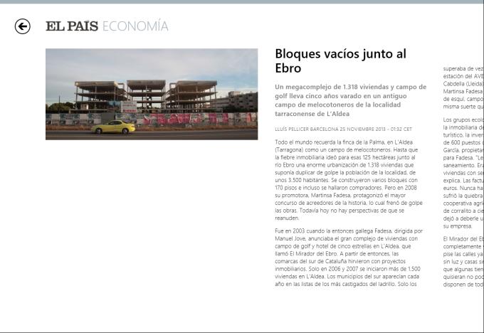 El País para Windows 10
