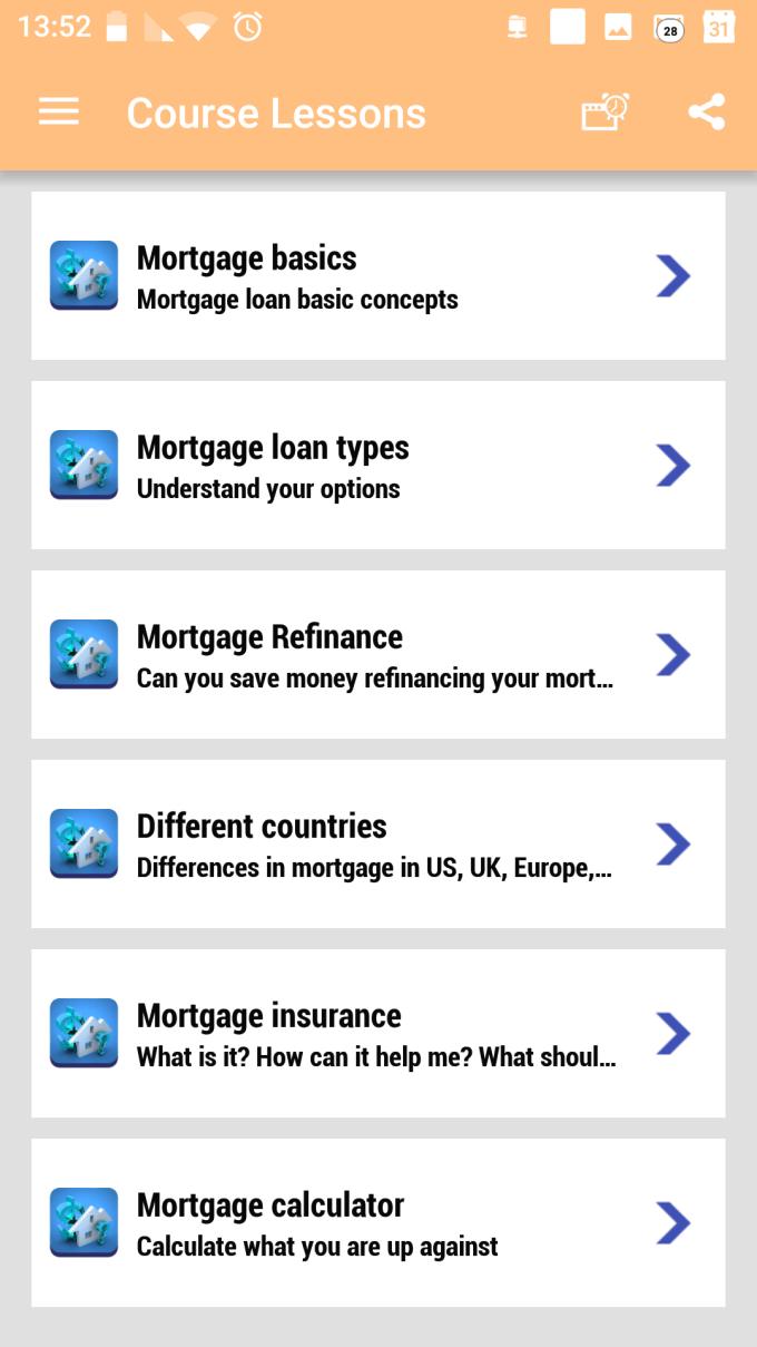 Mortgage loans mini-course