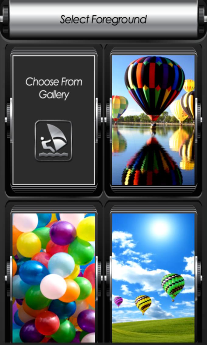 Balloon Zipper Lock Screen