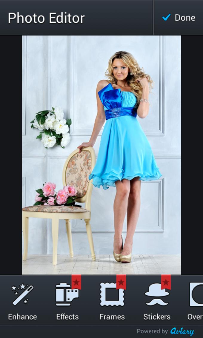 Evening Dress Photo Montage