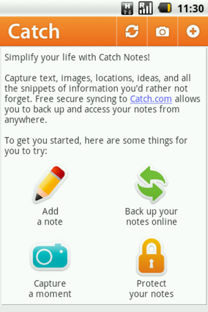 Catch Notes