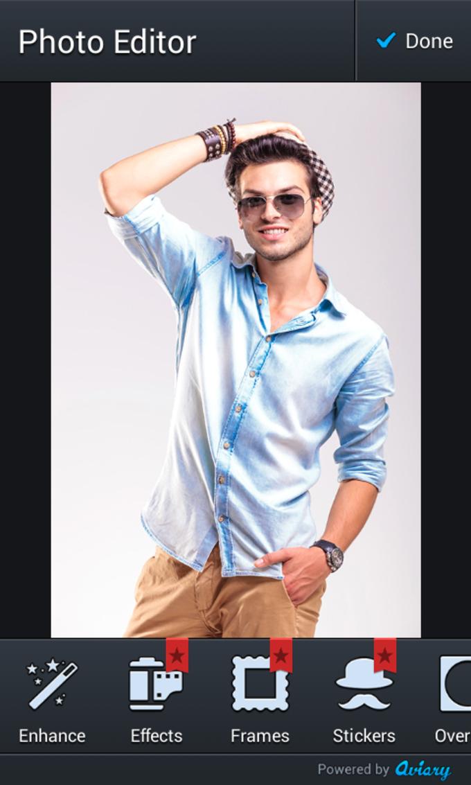 Man Fashion Photo Editor