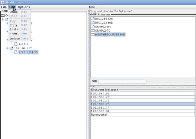 JSNMPWalker for Linux