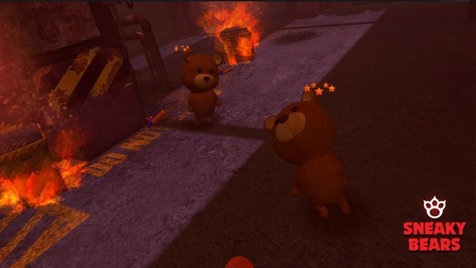 Sneaky Bears PS VR PS4