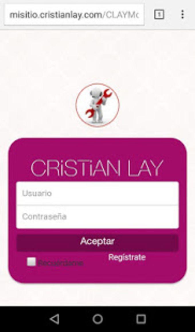 CRISTIAN LAY Web