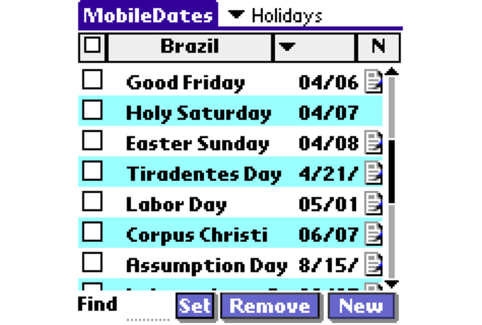 Mobile Dates