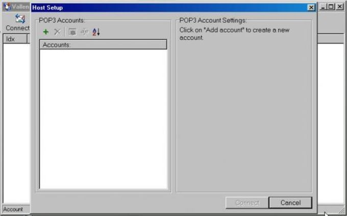 Vallen POP3 Mail Checker