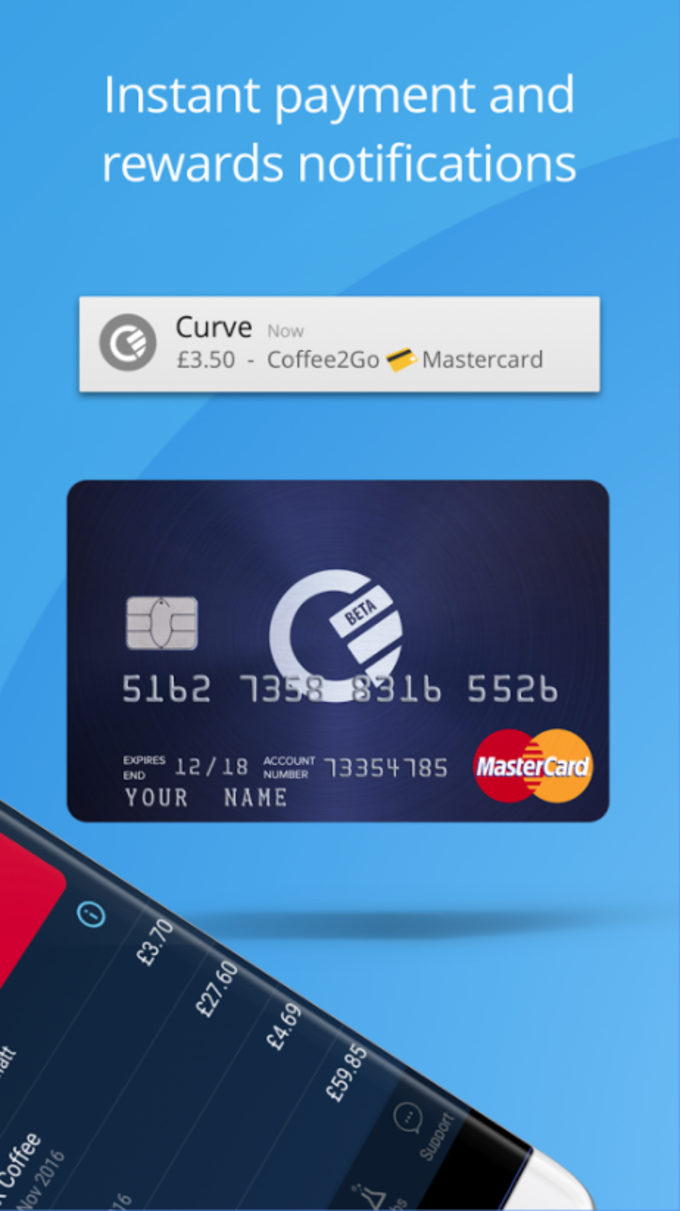 Xim4 how to add curve on android app