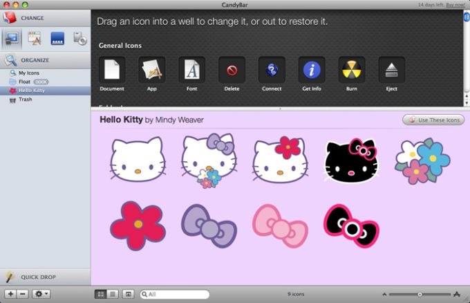 Hello Kitty Icons