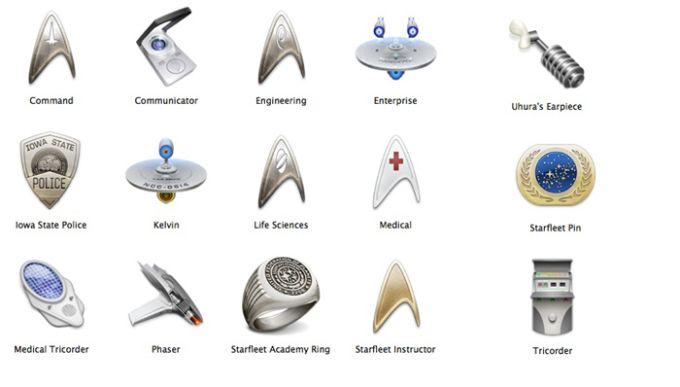 Official Star Trek Icons