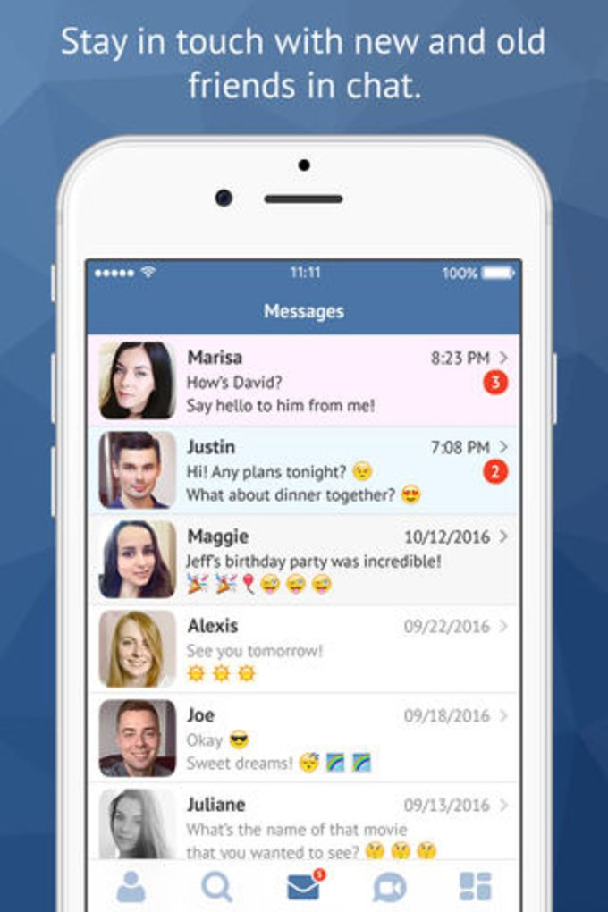 Dating program iphone