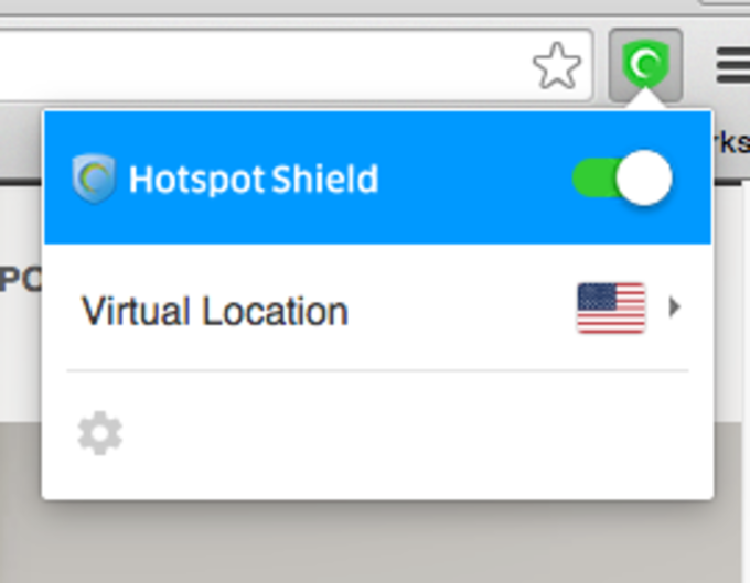 Hotspot Shield VPN Chrome Extension