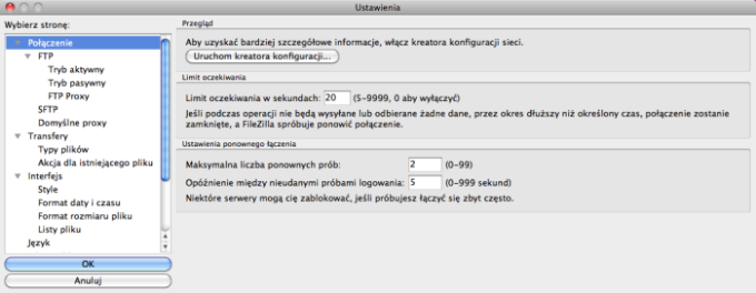 FileZilla na Mac - Download