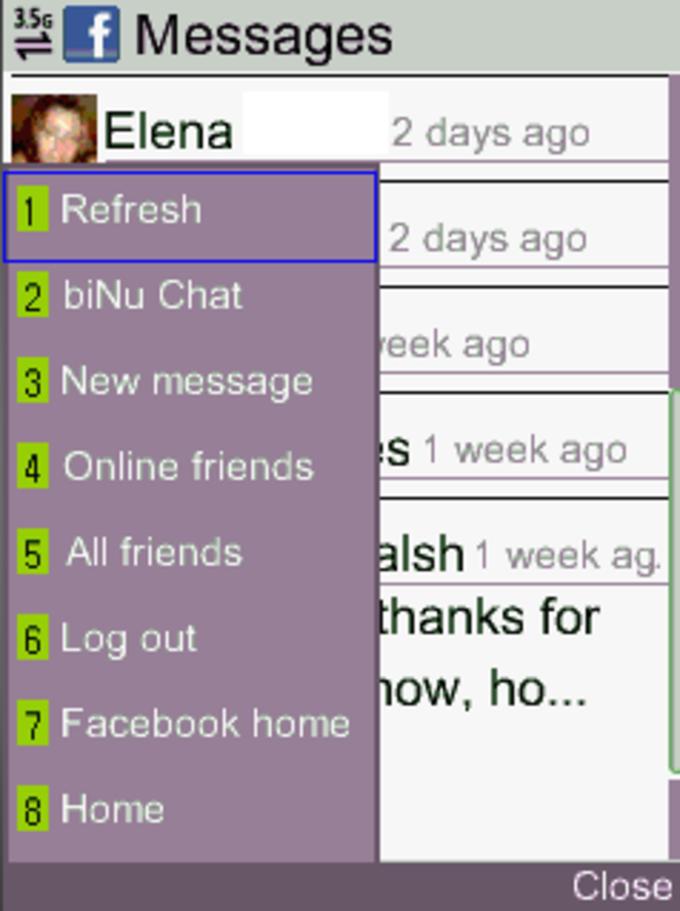 biNu Facebook Messenger