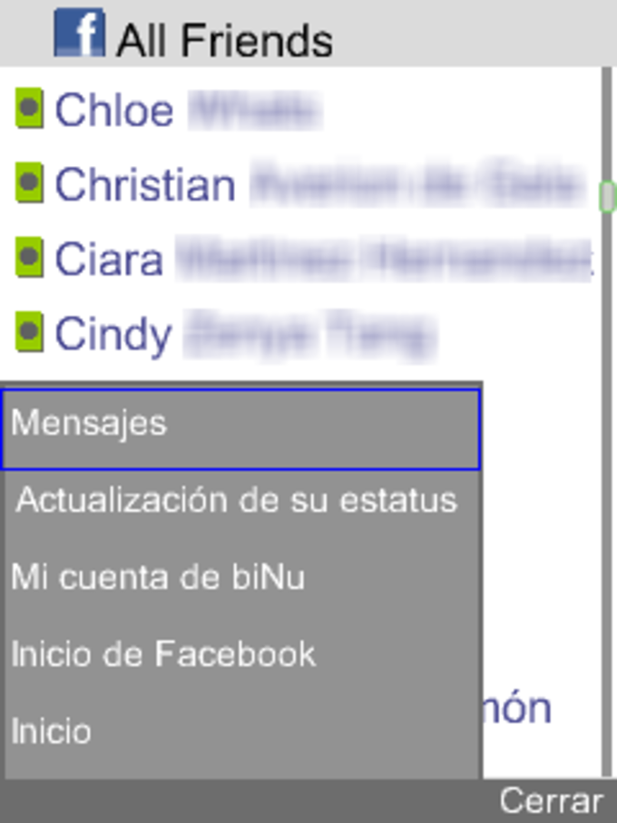 biNu for Facebook Messenger