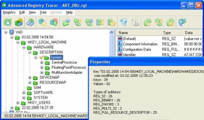 Advanced Registry Tracer
