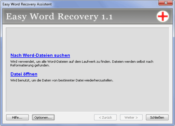 Easy Word Recovery