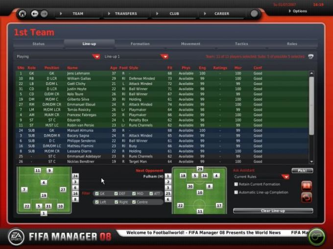 LFP Manager 08 (FIFA Manager 08)