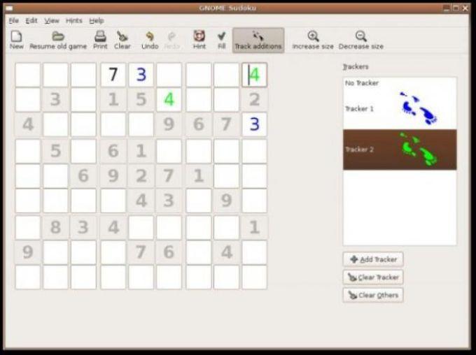 GNOME Sudoku