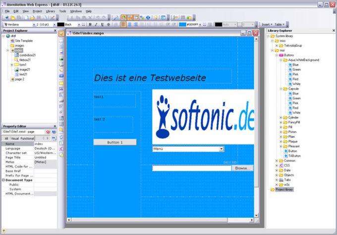 MoreMotion Web Express